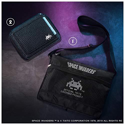 スペースインベーダーロゴのサコッシュ&コンパクトレザー財布が付録の「smart 2019年7月号」が予約受付中