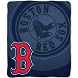 MLB Boston Red Sox Raschel Plush Throw Blanket, Retro Design at Amazon.com