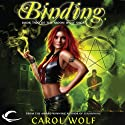Binding: Book Two of the Moon Wolf Saga (       UNABRIDGED) by Carol Wolf Narrated by Elizabeth Evans
