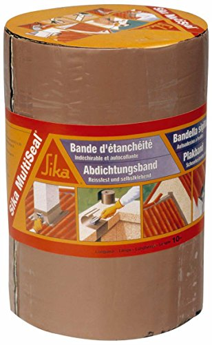 sika-8551-multiseal-bande-detancheite-autocollante-a-froid-150-mm-x-10-m-terre-cuite