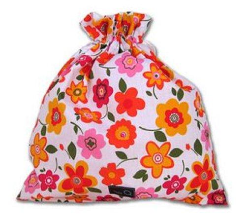 Della Q Small Eden Cotton Pouch - Flower Power by Della Q