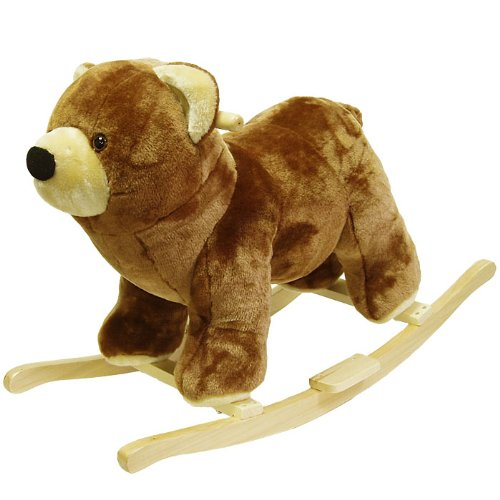 Happy Trailstm Plush Rocking Animal - Choose Animal! front-963253