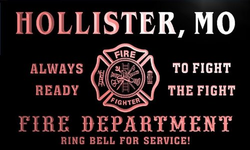 qy59654-r-fire-dept-hollister-mo-missouri-firefighter-neon-sign-enseigne-lumineuse
