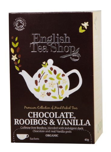 English Tea Shop Rooibos Chocolate Vanilla Organic 20 Sachet Tea Bags  (Pack of 3)