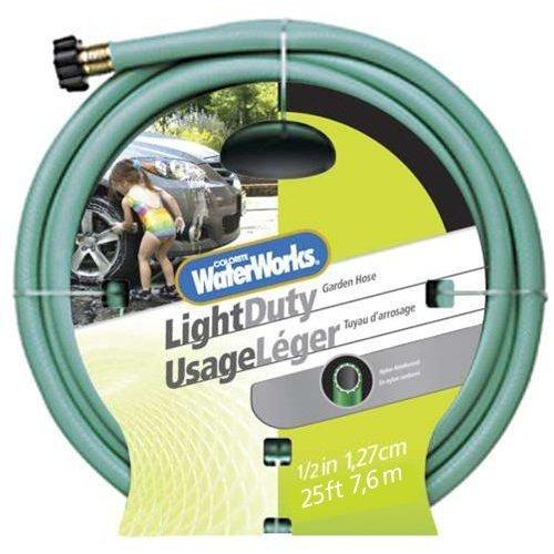 Colorite Light Duty WC1012025 1/2-Inch x 25-Foot Green Garden Hose
