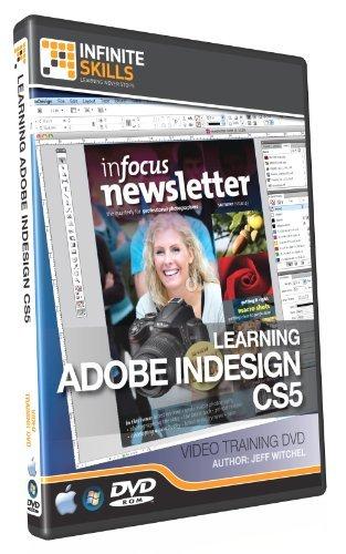 Infiniteskills Adobe InDesign CS5 Training DVD - Tutorial Video (Win & Mac)