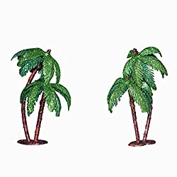 Crony Artificial Mini Tree for 3-D Models, Project Making, Hobby Crafts, Bird Houses, Toys; Qty: 6pcs; Size 4 Inches (Approx.)(coconet with gliitter)