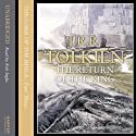 The Lord of the Rings: The Return of the King, Volume 2: The End of the Third Age (       UNABRIDGED) by J.R.R. Tolkien Narrated by Rob Inglis