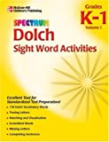Dolch Sight Word Activities: Grade K-1
