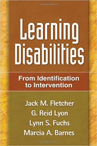 Book cover: learning disabilities: from identification to intervention