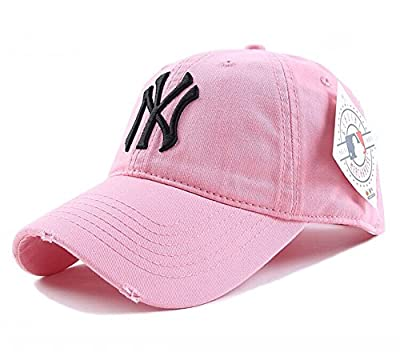 GOOC Unisex New York Yankees Navy Adjustable Performance Fitted Hat Cap