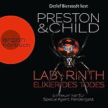 Labyrinth - Elixier des Todes (Pendergast 14) Hörbuch von Douglas Preston, Lincoln Child Gesprochen von: Detlef Bierstedt
