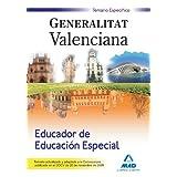 Educador De Educación Especial De La Generalitat Valenciana. Temario Específico