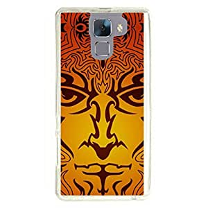 a AND b Designer Printed Mobile Back Cover / Back Case For Huawei Honor 7 (HON_7_776)