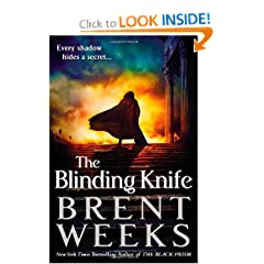 The Blinding Knife (Lightbringer) by Brent Weeks