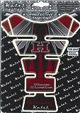 Keiti(ケイティ) タンクパッド HONDAウイング/レッド UVクリアコーティング 17.5X22.0cm THD204R