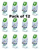 12x Air Wick Odour Stop Air Freshener - Lavender and Camomile - Mountain Air (Lavender & Camomile)