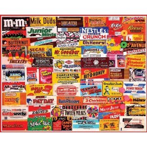 Candy Wrappers 1000 Piece Puzzle