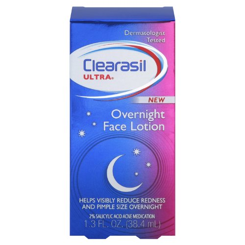Clearasil Ultra Overnight Lotion, 1.3 Ounce