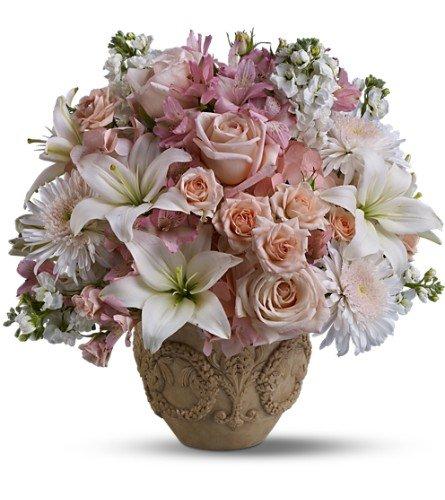 Teleflora's Garden of Memories – Funeral Flower Baskets