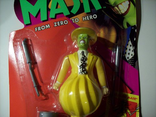 "5"" Jim Carrey As Tornado Mask Action Figure - The Mask Movie: From Zero to Hero - 1"