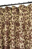 Park B. Smith Floral Swirl Shower Curtain, Celedon/Woodland