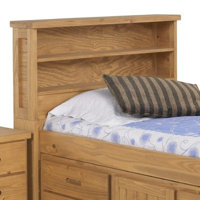 Cheap Kid's Scene Bookcase Headboard in Deep Rustic (2000-971)