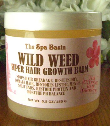 Wild Weed Super Hair Growth Formula /Soften and