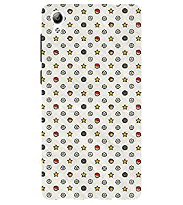Chiraiyaa Designer Printed Premium Back Cover Case for Vivo Y51 (pattern star) (Multicolor)