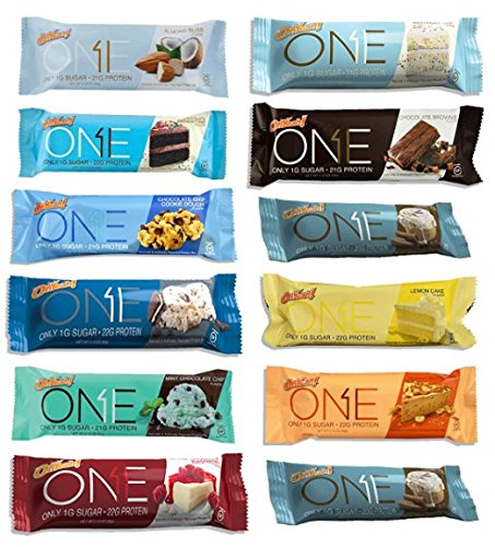 Oh Yeah! One Bar Super Variety 12 Count ALL FLAVORS (Quest Bar One compare prices)