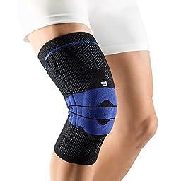 Bauerfeind GenuTrain Knee Support (Black, 4)