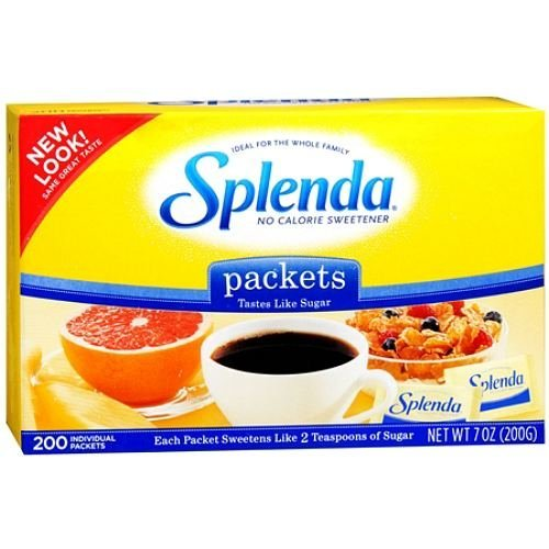 Splenda No Calorie Sweetener 200 Packets