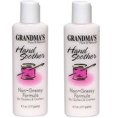 (Set/2) Grandma's Pure & Natural Hand Soother Lotion For Quilters & Crafters (Quilters Hand Lotion compare prices)