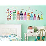 Decals Arts Multiplication Table Adhesive Kids Rooms Wall Sticker