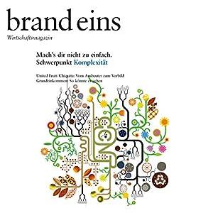 brand eins audio: Komplexität Audiomagazin