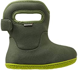 Bogs Baby Bogs Classic Solid Rain Boot (Toddler), Olive, 4 M US Toddler