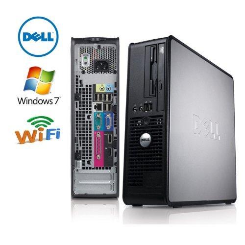 Dell 780 Optiplex Dt, Wifi, Intel Quad Core 2.4Ghz, 4Gb Ddr3, 1Tb 7200 Rpm Hdd, Dvd/Cd Rw, Windows 7 Professional 64 Bit With Restore Cd