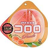 味覚糖 コロロ ピーチ 芳醇白桃 40g