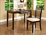 Iris Home Office Desk&Chair Set By CrownMark Furniture
