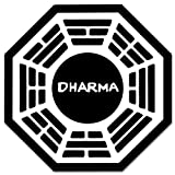 "LOST TV series DHARMA Initiative sticker decal 4"" x 4"""