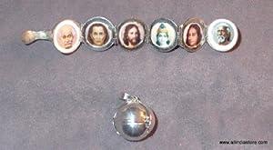 Sri Yogananda & the Line of Gurus Pendant Gau Box