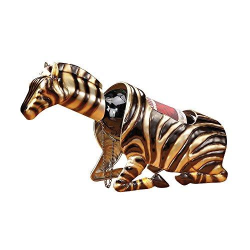 Decobreeze Home Holiday Decoration Wine Bottle Holder-Zebra