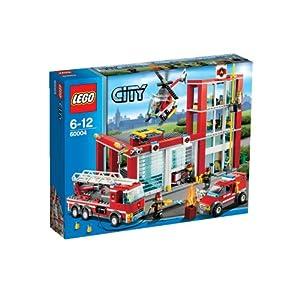Lego City 60004 - Feuerwehr-Hauptquartier