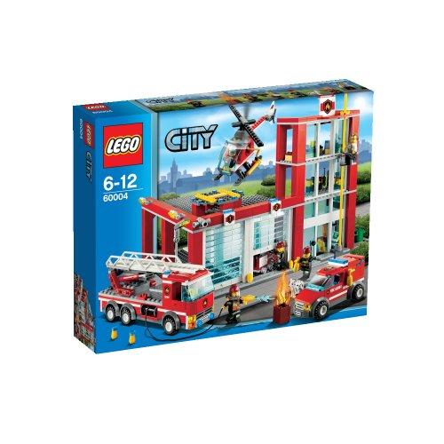 レゴ シティ ファイヤーステーション 60004