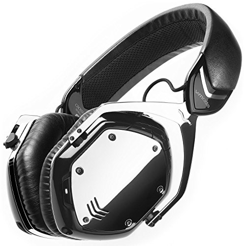V-MODA Crossfade Wireless  XFBT-PHCHROME Over-Ear Headphones (Phantom Chrome)