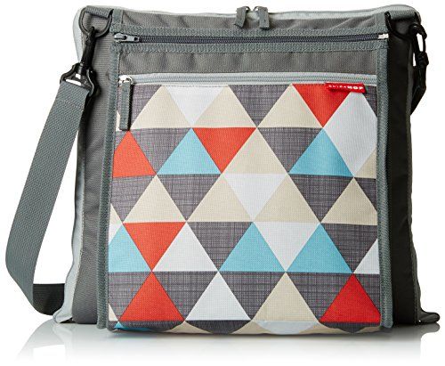 Big Save! Skip Hop Central Park Outdoor Blanket and Cooler Bag, Triangles