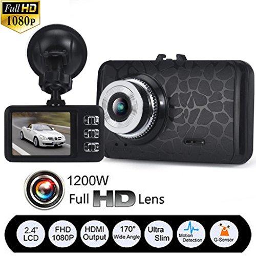 ODGear 1080P HD CAR DVR G-sensor IR Night Vision Vehicle Video Camera Recorder Dash Cam (Car Camera Recorder Battery 1080 compare prices)