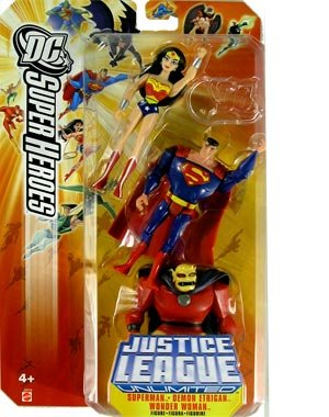 Buy Low Price Mattel Justice League Unlimited Wonder Woman, Superman, The Demon Etrigan Action Figure Set (B000OEIRPM)