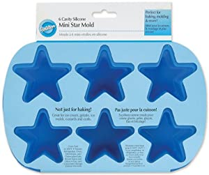 Wilton Star Silicone Mold, Mini