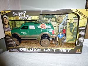 Swamp People Truck & Boat Play Set Includes Troy Landry Action Figure